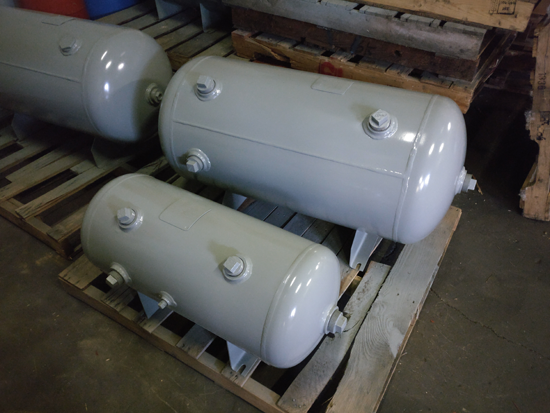 Inline Surge Tank : Air surge tanks asme bladder storage