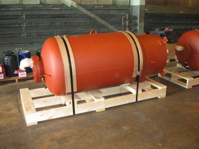 ASME Bladder Hydropneumatic tanks