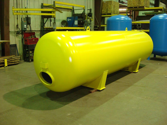 Plain Steel Hydro-Pneumatic Tanks | ASME Bladder Tanks